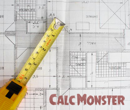Square Footage Calculator Calcmonster Is King