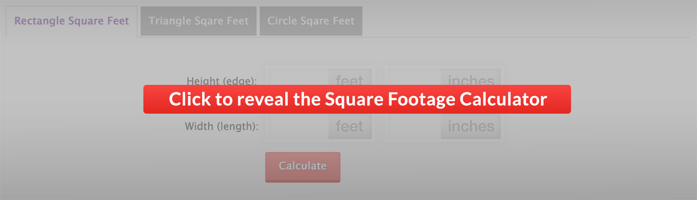 square feet calc